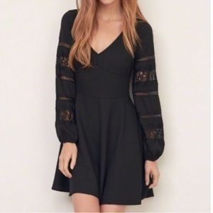 New A&F skater style long sleeves dress.